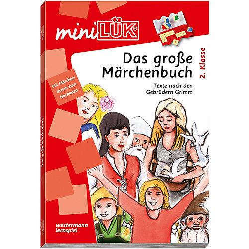 WESTERMANN LERNSPIELVERLAG miniLÜK: Das große Märchenbuch, Übungsheft - broschei