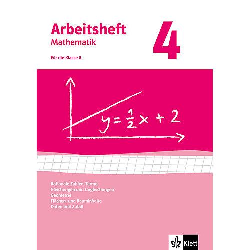 Klett Verlag Arbeitsheft Mathematik, Neuausgabe: Für die Klasse 8 jetztbilligerkaufen