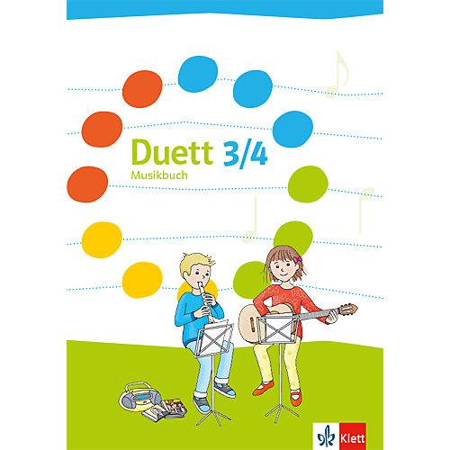 Klett Verlag Duett, Ausgabe Grundschule, Neubearbeitung: 3./4. Schuljahr, Schülerbuch jetztbilligerkaufen