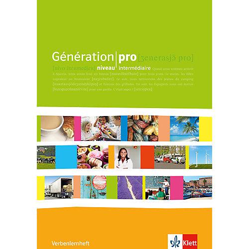 Klett Verlag Génération pro, niveau intermédiaire: Verbenlernheft jetzt billiger kaufen