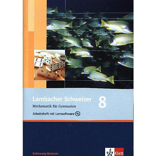 Klett Verlag Lambacher-Schweizer, Ausgabe Schleswig-Holstein: 8. Schuljahr, Arbeitsheft m. CD-ROM jetzt billiger kaufen