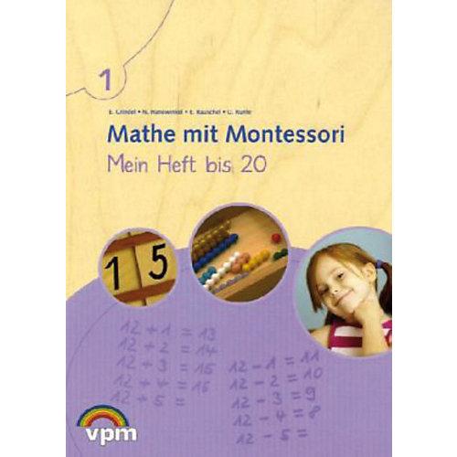 Klett Verlag Mathe mit Montessori: Mein Heft bis 20, 1. Schuljahr jetzt billiger kaufen