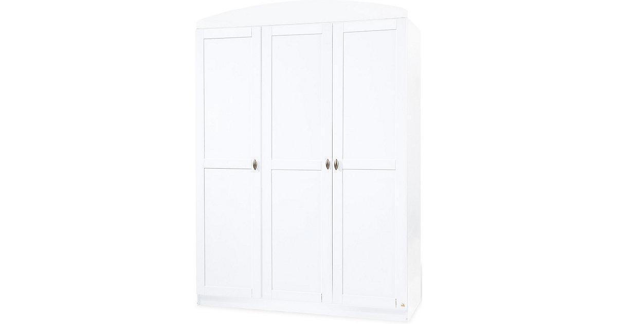 Kleiderschrank LAURA, 3-türig, Weiß