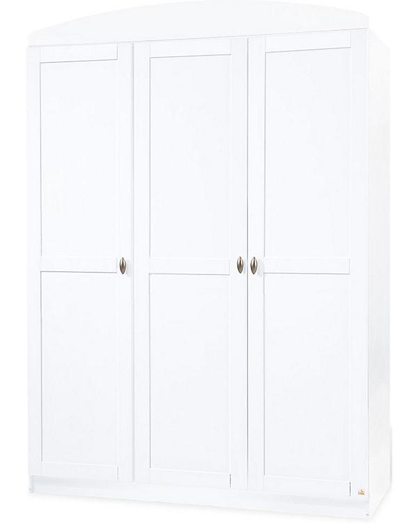 Kleiderschrank LAURA, 3-türig, Weiß, Pinolino | myToys