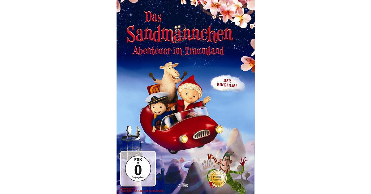 DVD Das Sandmännchen - Abenteuer im Traumland Hörbuch