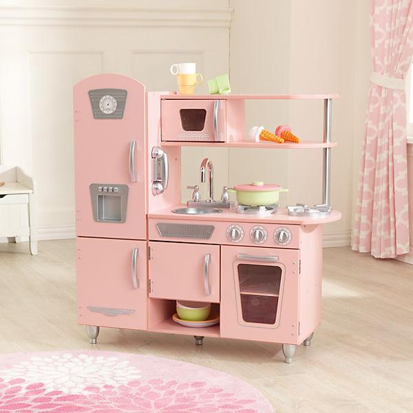 Spielküche retro rosa kidkraft