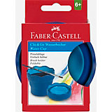 Стакан для воды Faber-Castell Clic&Go, синий