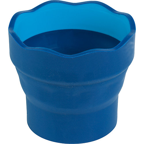 Стакан для воды Faber-Castell Clic&Go, синий от Faber-Castell