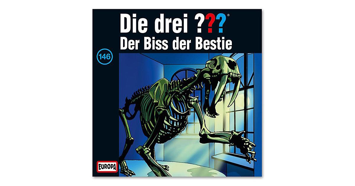 CD Die Drei ??? 146 -Der Biss der Bestie Hörbuch
