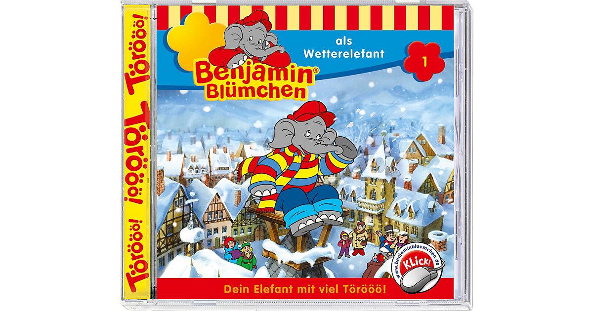 CD Benjamin Blümchen 01 - Wetterelefant Hörbuch