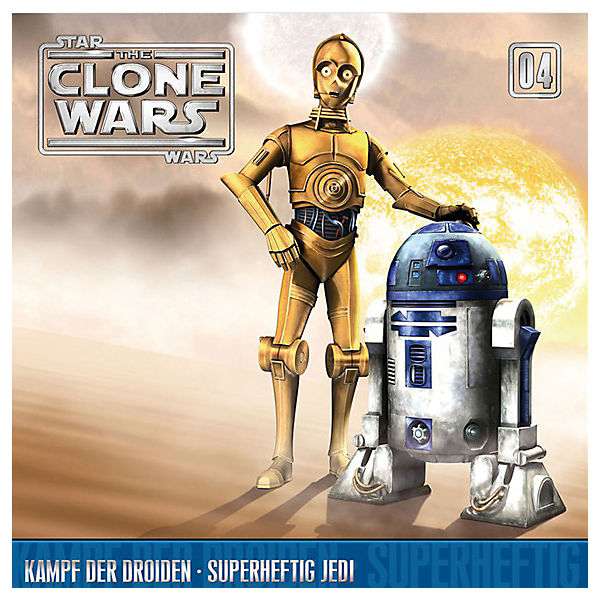 CD Star Wars - The Clone Wars 04 - Kampf der Droiden