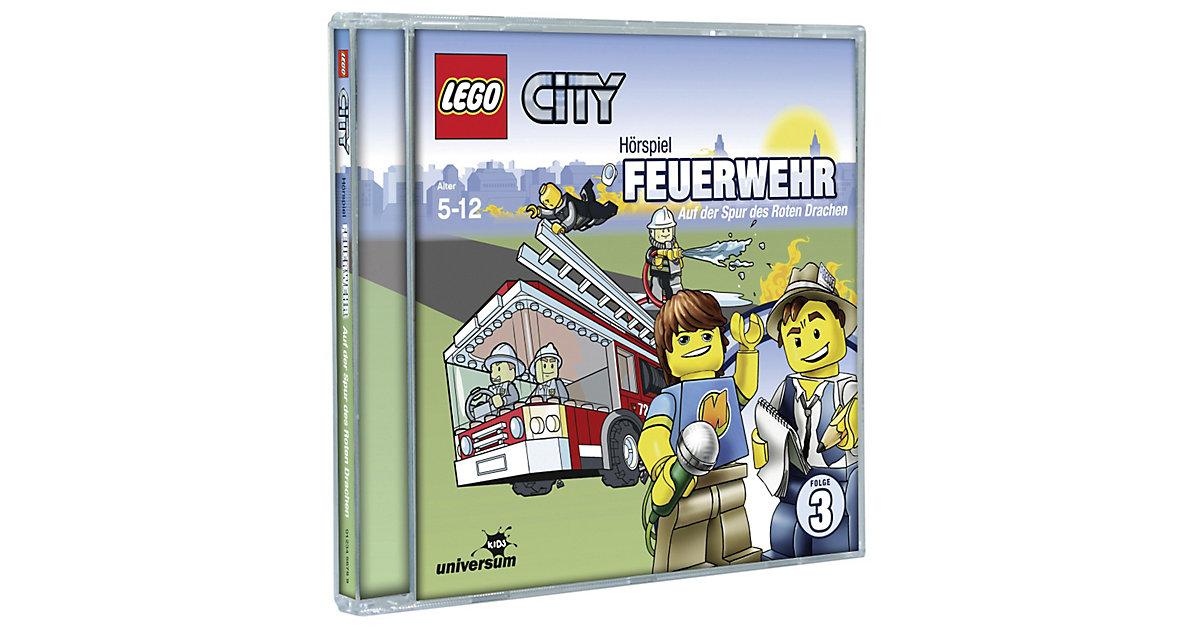 CD LEGO City 03 - Feuerwehr: Auf der Spur des Roten Drachen Hörbuch