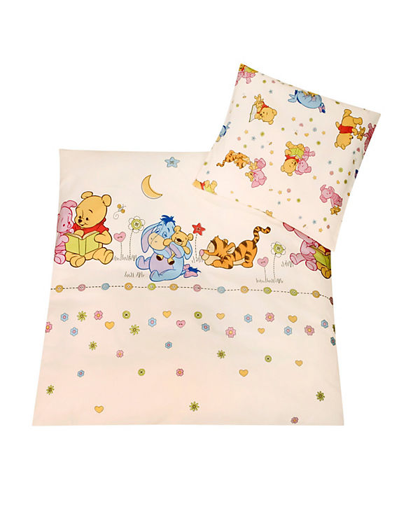 Babybettwäsche Stylished Pooh 80 X 80 Cm Disney Winnie Puuh Mytoys
