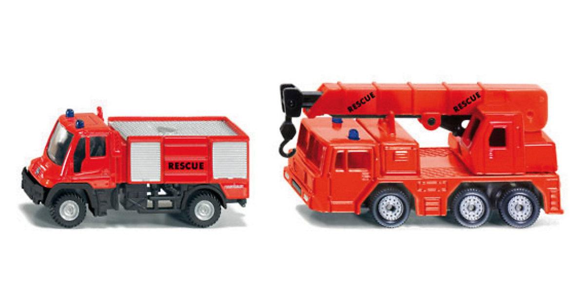 SIKU 1661 Feuerwehr- Set