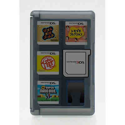3ds Game Card Case 24 Blau Mytoys