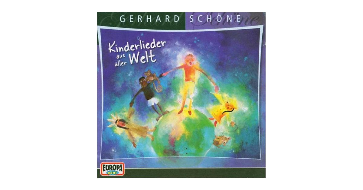 CD Schöne, Gerhard Kinderlieder aus aller Welt