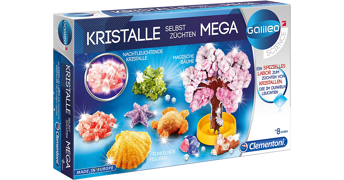 Clementoni · Galileo - Kristalle selbst züchten - Mega