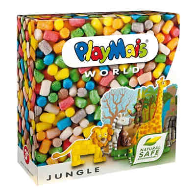 PlayMais WORLD Jungle, 1.000 Maisbausteine