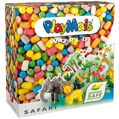 PlayMais WORLD Safari, 1.000 Maisbausteine