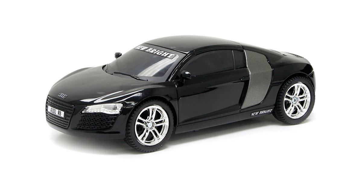 New Bright RC - Auto Audi R8 Schwarz