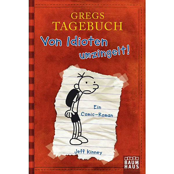 Gregs Tagebuch 1: Von Idioten umzingelt!, Jeff Kinney | myToys
