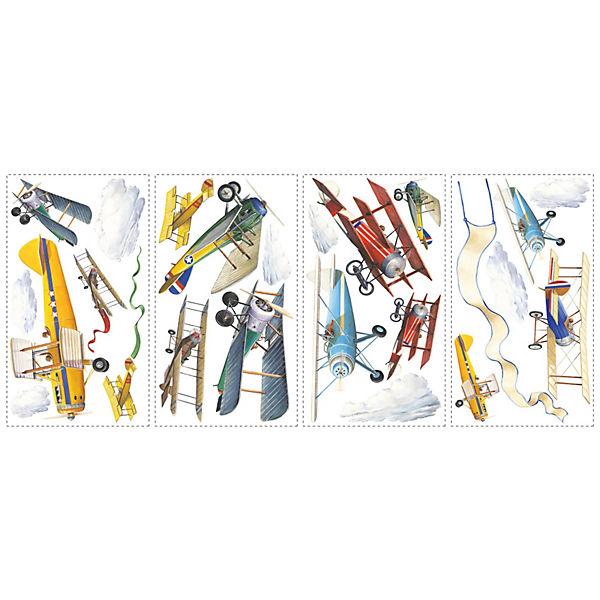 """Наклейки для декора """"Самолеты, исторические модели"""""""