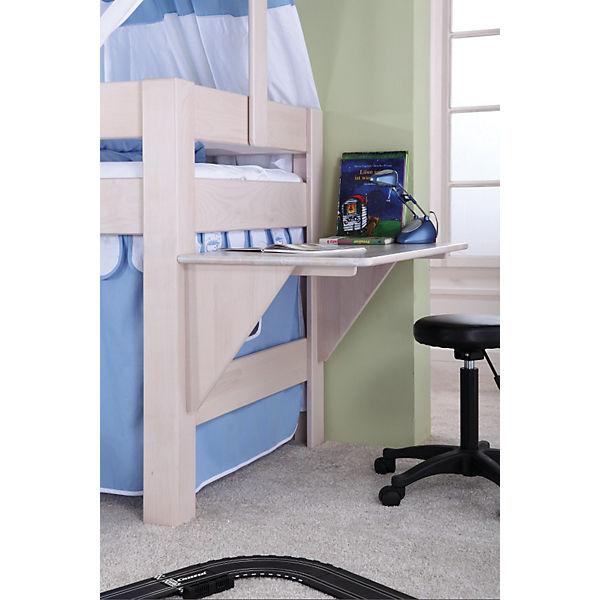 Schreibtisch Für Spielbett Leo Buche Massiv Weiß Wash Relita Mytoys