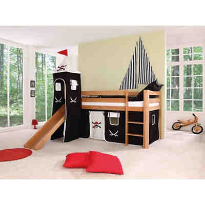 tunnel f r hoch und etagenbetten pirat ticaa mytoys. Black Bedroom Furniture Sets. Home Design Ideas