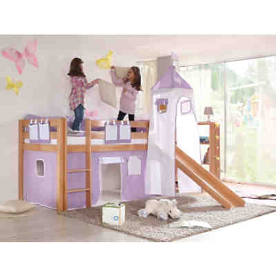 hochbett alex buche massiv natur 90 x 200 cm relita mytoys. Black Bedroom Furniture Sets. Home Design Ideas