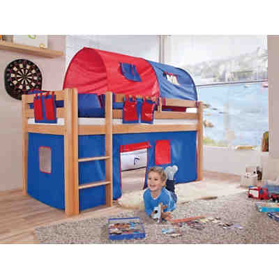 vorhangset f r spielbett eliyas und alex ohne rutsche pirat relita mytoys. Black Bedroom Furniture Sets. Home Design Ideas