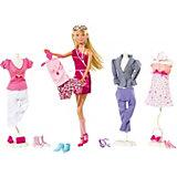 """Игровой набор с куклой Simba """"Steffi Love"""" Штеффи с одеждой и аксессуарами, 45 предметов"""