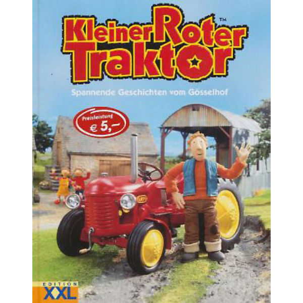 Kleiner roter traktor mytoys