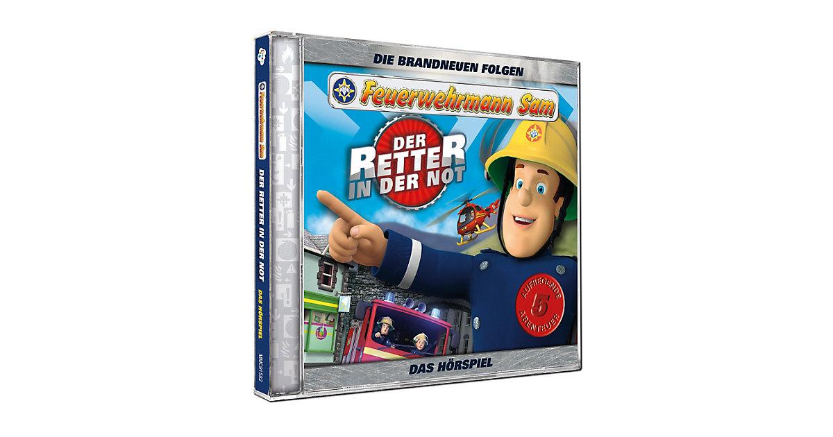 CD Feuerwehrmann Sam - der Retter in der Not Hörbuch
