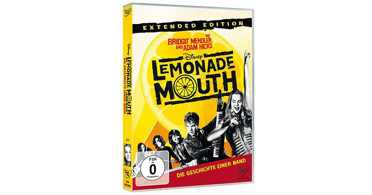 DVD Lemonade Mouth - Die Geschichte einer Band