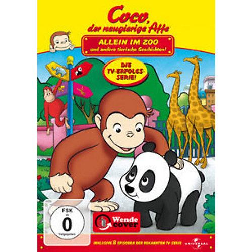 Universal DVD Coco, der neugierige Affe - Allein im Zoo Sale Angebote Drieschnitz-Kahsel