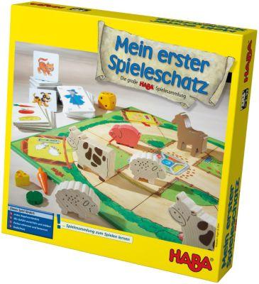 Mein erster Spieleschatz- Die große HABA-Spielesammlung