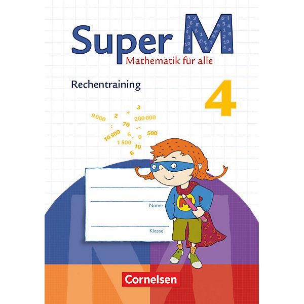 Super M - Mathematik für alle (Zu allen Ausgaben): 4. Schuljahr ...