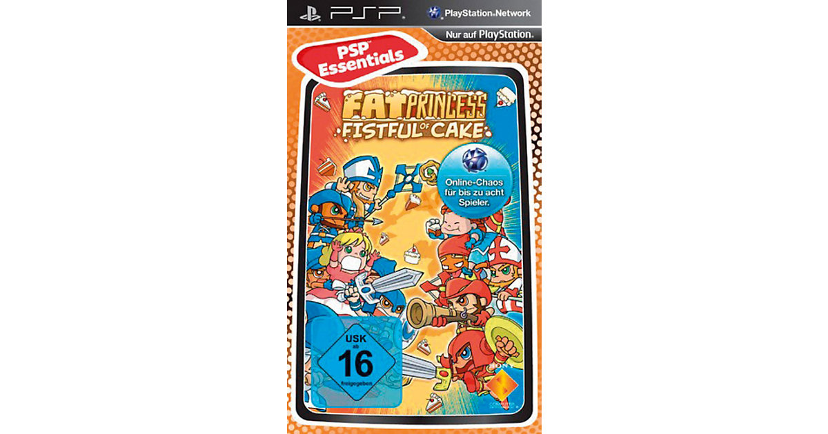 Vorschaubild von PSP Fat Princess - Essentials