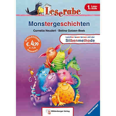 Leserabe: Monstergeschichten