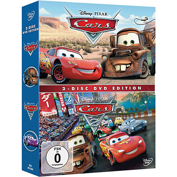 DVD Disney's Cars 1 + Cars 2 (Pack)