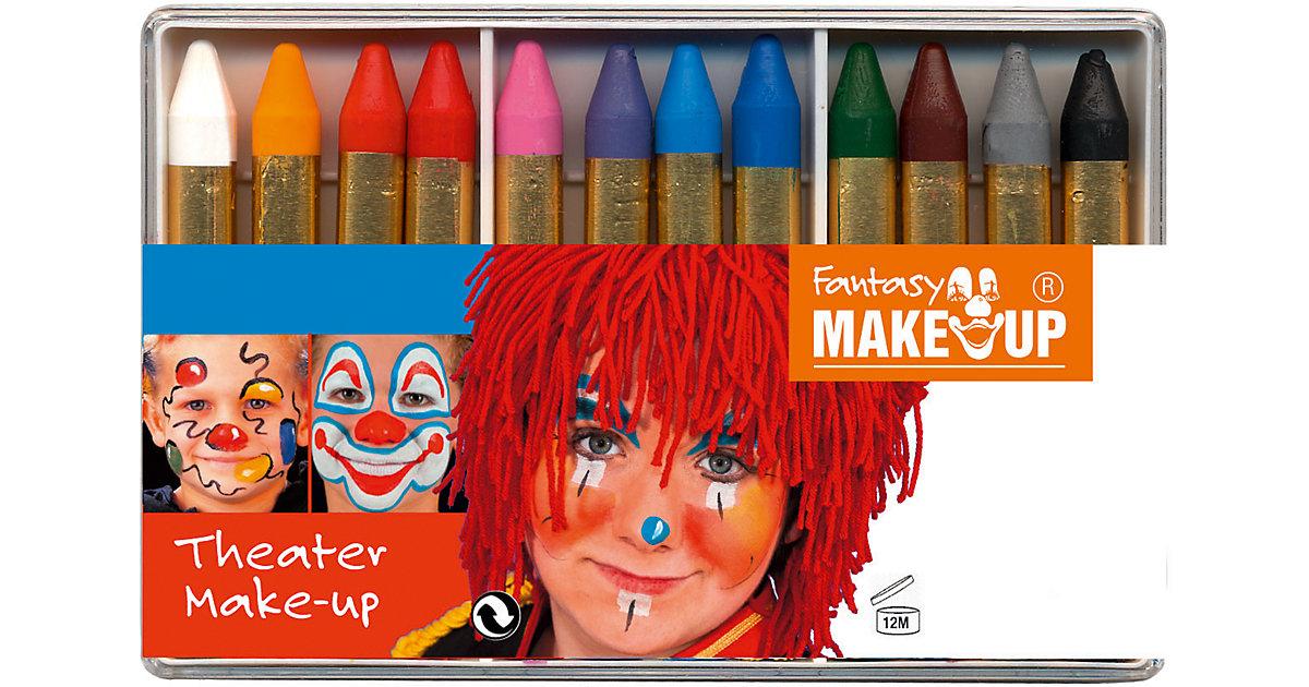 Fantasy Theater Make Up Schminkstifte, 12 Farben