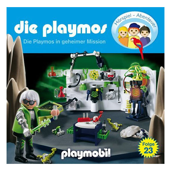 CD Die Playmos 23 - Die Playmos in geheimer Mission