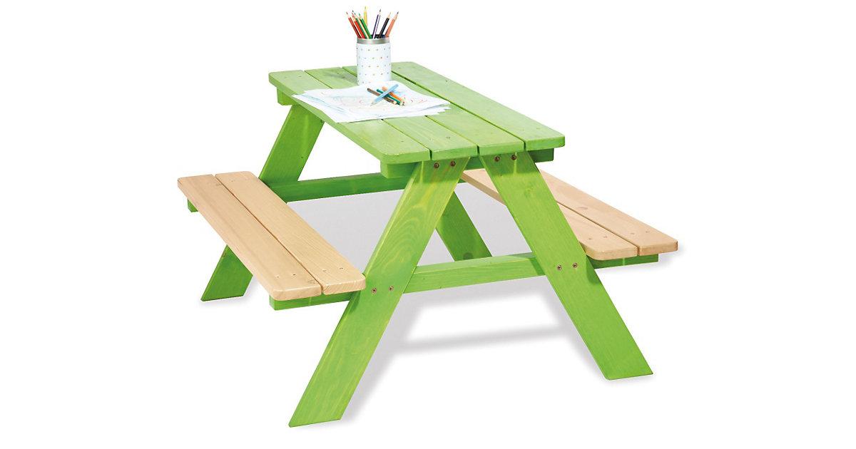 Kindersitzgruppe Nicki 4 Kinder, grün Kinder