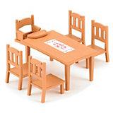 """Набор """"Обеденный стол с 5 стульями"""" Sylvanian Families"""