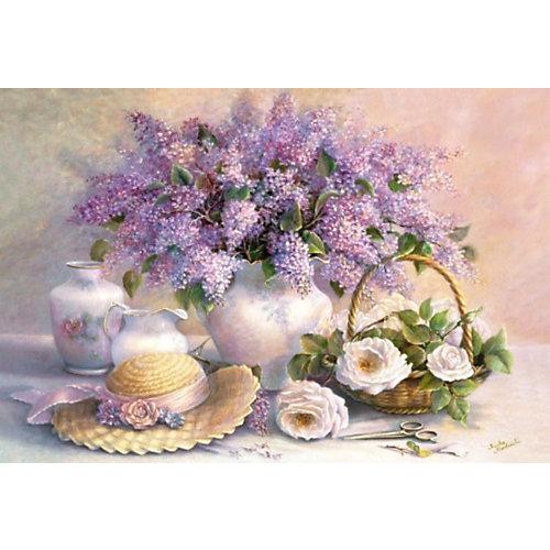 """Пазл """"Цветы"""", 1000 деталей, Castorland от Castorland"""