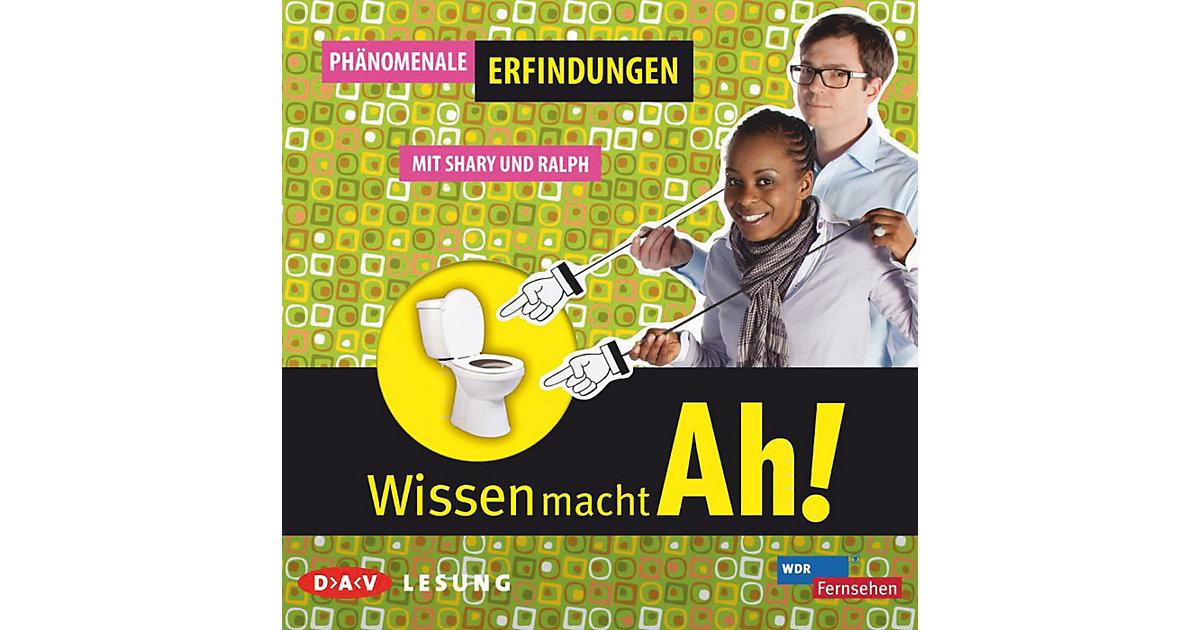 Wissen mach Ah!: Phänomenale Erfindungen, 1 Aud...
