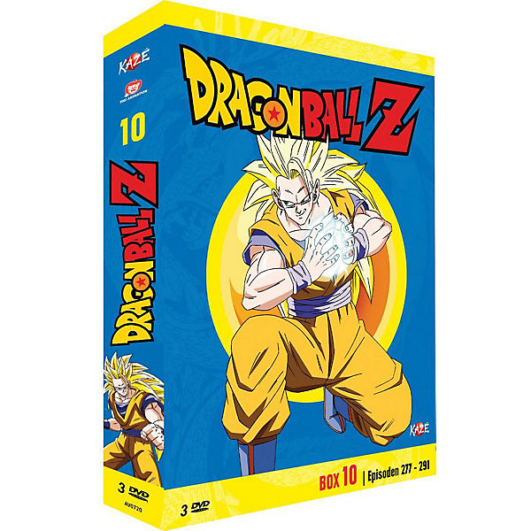 DVD Dragonball Z - Box 10