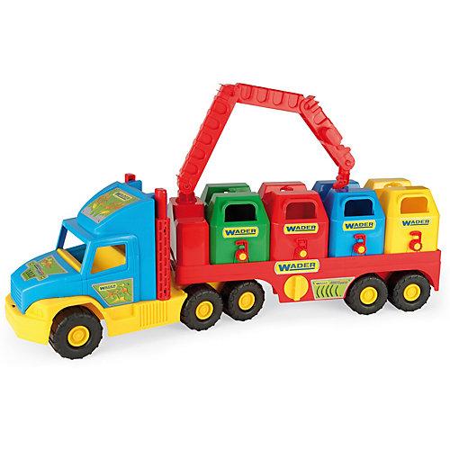 Мусоровоз Wader Super Truck от Wader