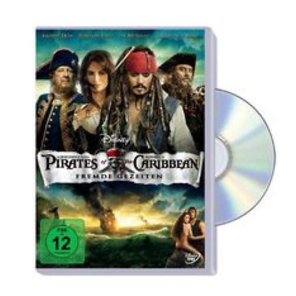 Dvd Fluch Der Karibik 4 Fremde Gezeiten Disney Mytoys