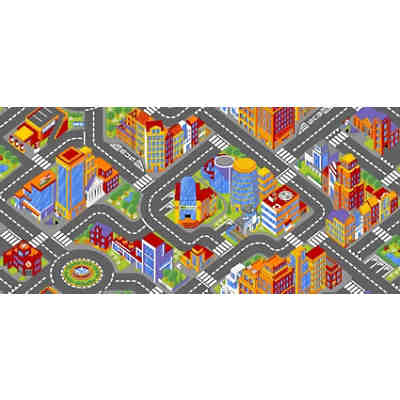 Kinderteppich Big City, 140 x 200 cm